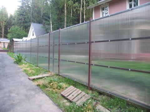 Забор для садового участка