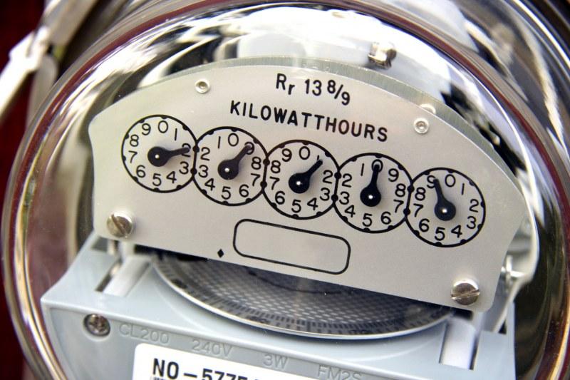 Уменьшение показаний счетчика электроэнергии