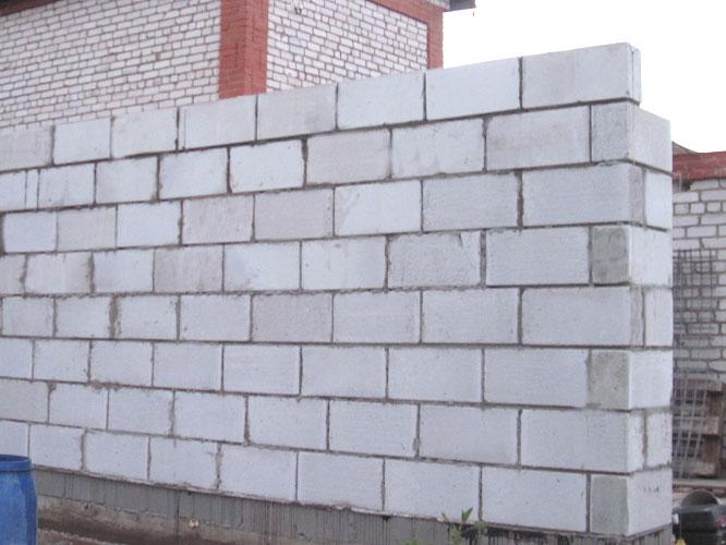 Кладка блоков своими руками фото с чего