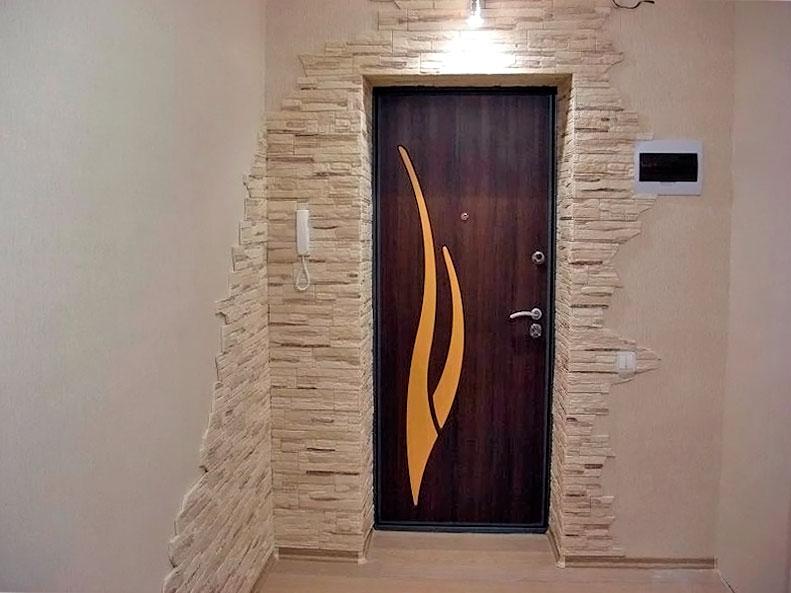 входные двери оформление